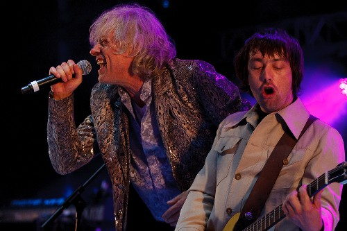 Lighting for Bob Geldof and the Boomtown rats at Watchet Live 2015