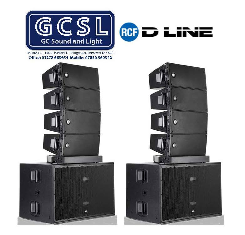 Quality Sound Systems from RCF