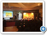 Back projected video and Powerpoint presentations to suit the venue